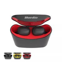 RESMI Bluedio T-Elf TWS Bluetooth Headset Earphone 5.0 Wireless Earbud