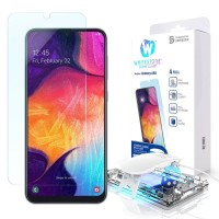 Whitestone dome full adhesive uv tempered glass Samsung A30 / A50