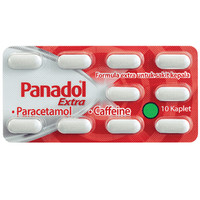 PANADOL EXTRA MERAH 1 strip X 10'