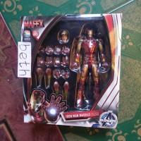 Ori Mafex Iron Man Mark 43 Medicom Toy 013 Ironman Mk XLIII (not shf)