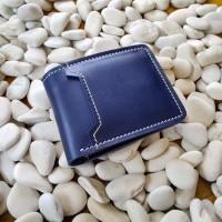 dompet pria kulit asli dompet pria full kulit biru navy