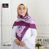 jilbab Segi empat Motif Abstrak Arrafi AR 165