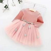 dress casual anak/dress anak/baju import anak perempuan