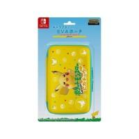 Switch Pokemon Let's Go EVA Pouch Hard Case Pikachu ORIGINAL Nintendo
