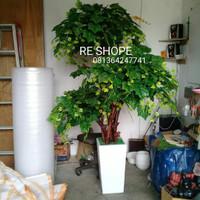 Bunga Hias Plastik Pohon Bonsai Anggur Rimbun 170cm