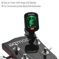 AROMA Tuner Gitar dengan Clip-AT-01A8