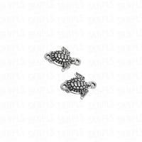 Liontin Charm Beads Logam Kura Kura / Turtle / Penyu