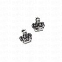 Liontin Charm Beads Logam Mahkota ( Raja / Ratu ) / ( King / Queen )