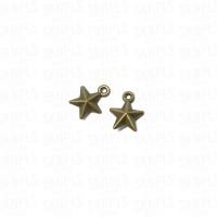 Liontin Charm Beads Logam Bintang / Star
