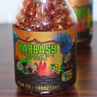 Minyak Habbatussauda Habbasy Oil 7in1 propolis trigona 200 kapsul