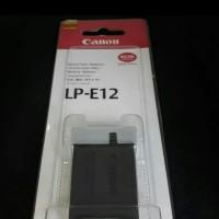 Baterai Kamera Canon LP-E12