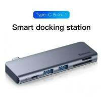 BASEUS USB C 51N1 HUB ADAPTER 3.0 SD MICRO TF PD NEW MACBOOK AIR TOUCH