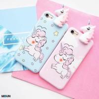 Peeking Unicorn - soft case full cover for iPhone - OPPO F1s F3 F5