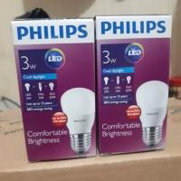 Lampu LED Bulb Philips 3 Watt