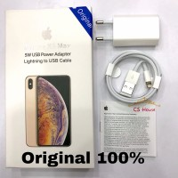 Charger iPhone XS MAX XR 7 8 X 6 7+ 8+ ORIGINAL 100% FAST CHARGING