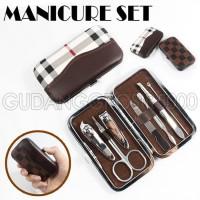 Terpopuler Manicure Pedicure Set Isi 7| Alat Perawatan Gunting Kuku