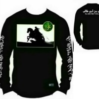 Kaos Pria Tauhid / Kaos Ali Bin Abi Thalib / Kaos Pejuang Islam