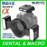 Meike MK-MT24S II Macro Twin Flash Kit with LED for Dental Photography