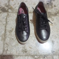 fit flop sneakers gunmetal preloved. fitflop sneaker slip on