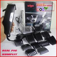 Clipper Alat Cukur Rambut Wigo W530 Mesin Pencukur Elektrik Komplit