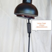 Lampu Terapi Fisoterapi InfraRED Rematik Stroke Radang Sendi Tdp lamp