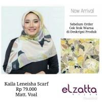 Hijab Jilbab Kerudung Segi Empat KAILA LENEISHA Scarf ELZATTA Original