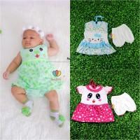 (BUY 1 GET 1) Setelan Bayi 0-12 Bulan / Anak Perempuan Baju New Born