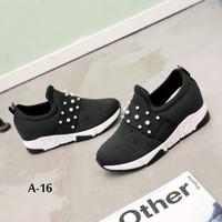 Sepatu Wedges Mutiara//A-16