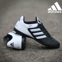 Sepatu Futsal Adidas Copa Kulit Import Varian 4 Warna - Black White