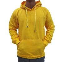 (PROMO) Jaket Polos Sweater Hoodie Jumper Polos Kuning Baby