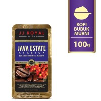 Coffee/Kopi JJ Royal Java Estate Arabica Ground Bag 100g