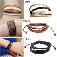 Gelang leather classic simple