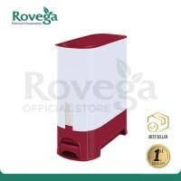 Rovega Rice Wise Dispenser Beras Premium 10 KG MAROON