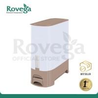 Rovega Rice Wise Dispenser Beras Premium 10 KG KREM