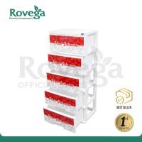 Rovega Lemari 5 Susun Premium Magnum Special Edition HUT RI CSE518WRI