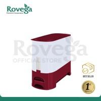Rovega Rice Wise Dispenser Beras Premium 5 KG MAROON