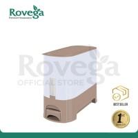 Rovega Rice Wise Dispenser Beras Premium 5 KG KREM