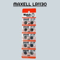 Baterai Maxell LR1130 / AG10 / 1 Strip Isi 10
