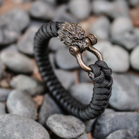 Premium Bracelet - Gelang Paracord - Fenrir