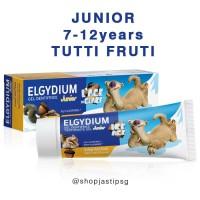 Elgydium Junior Toothpaste 50ml Pasta Gigi Anak 7-1yrs Tutti Frutti