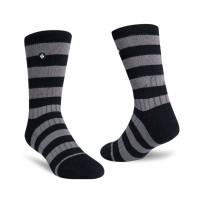 StayCool - Kaos Kaki Fashion Stripe Black