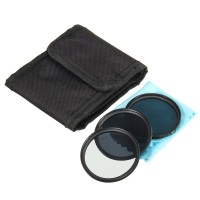Terlaris 52mm ND Neutral Density Filter Set ND2 ND4 ND8 for Canon