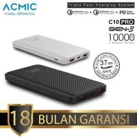 ACMIC C10PRO 10000mAh Power Bank Quick Charge 3.0 PD QC 3.0