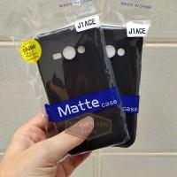 Samsung Galaxy J1 Ace SLIM MATTE CASE SOFTCASE Slim Blackmatte Case
