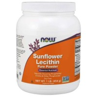 Now Foods Sunflower Lecithin Pure Powder 454 gram