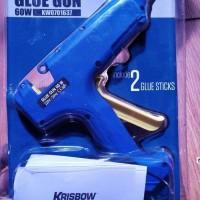 Krisbow Glue Gun KW0701637 - Hot Melt Glue Gun Lem Tembak 60 watt