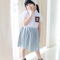 Baju SMA DILAN MILEA | Dress Kekinian Dilan Milea | Dress SMA Anak