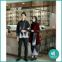BAJU BROKAT PAGER BUNGA KEBAYA MODERN Hijab Remaja Modis Cantik Couple