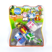 Robocar Poli set Mainan Anak