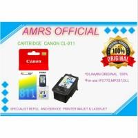 CARTRIDGE TINTA CANON CL 811 COLOR IP2770 MP287 MP237